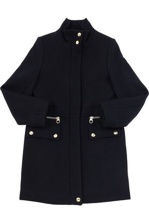 Chloé Girls Coats - Wool Blend Felt Coat
