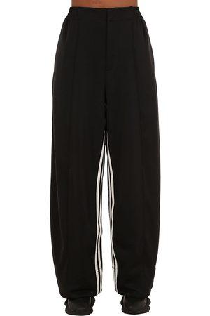 Y-3 3-stripes Wide Leg Techno Pants