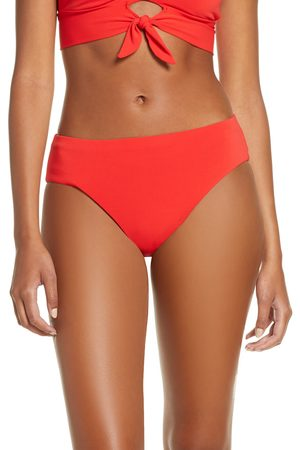 Robin Piccone Women's Ava High Waist Bikini Bottoms