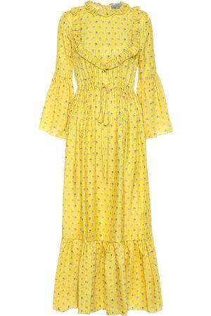 THORNTON BREGAZZI Tessa jacquard midi dress
