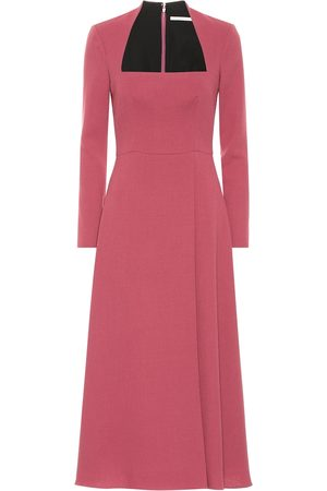 EMILIA WICKSTEAD Glenda wool crêpe dress