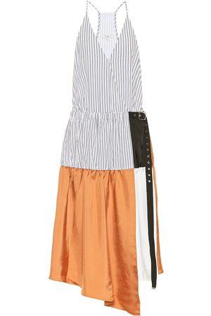 tibi Camille cotton midi dress