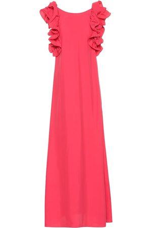 CO Ruffle-sleeve maxi dress