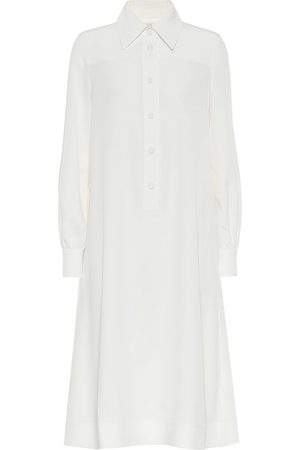 CO Crêpe shirt dress