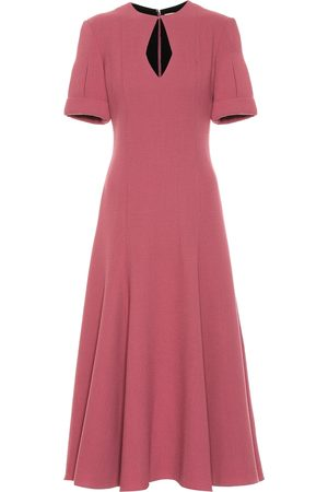 EMILIA WICKSTEAD Ludovica wool crêpe dress