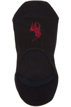 Polo Ralph Lauren Pack Of Three Cotton Blend Liner Socks - Mens