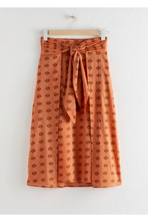 & OTHER STORIES Women Midi Skirts - Knot Tie Midi Skirt