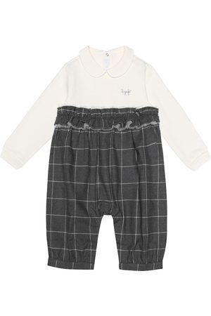 Il gufo Checked cotton pants