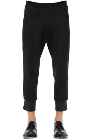 Neil Barrett Wool Blend Jersey Sweatpants