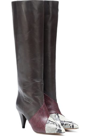 Isabel Marant Laomi leather patchwork boots