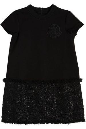 Moncler Girls Sweatshirts - Wool Blend Sweatshirt & Bouclé Dress
