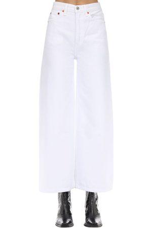 RE/DONE 60s Wide Leg Cotton Denim Pants