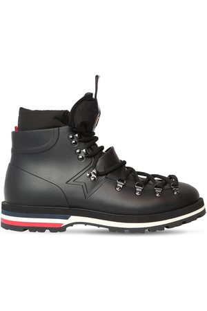 Moncler Henoc Leather Lace-up Boots