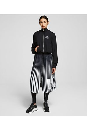 Karl Lagerfeld Rue St Guillaume Pleated Dress
