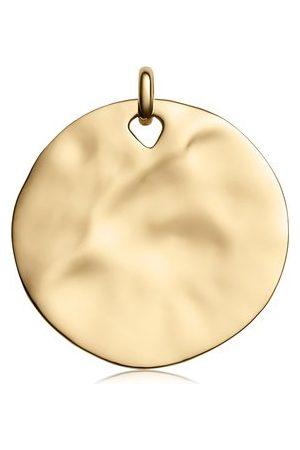 Monica Vinader Women Necklaces - Gold Siren Shore Pendant Charm