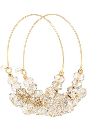 Isabel Marant Polly embellished hoop earrings