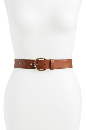 Madewell Women's Medium Perfect Leather Belt