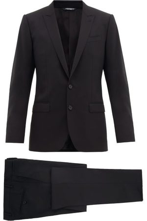 Dolce & Gabbana Martini Single-breasted Virgin-wool Suit - Mens
