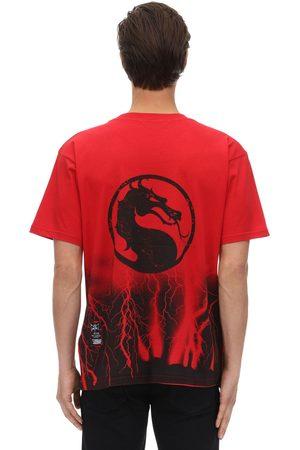 MJB - MARC JACQUES BURTON Men T-shirts - Mortal Kombat Festival Cracks T-shirt