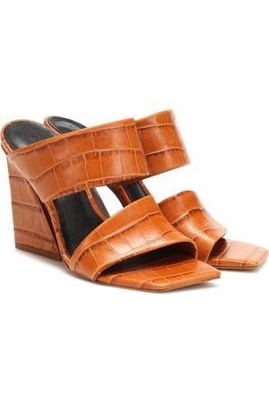 Mercedes Castillo Laurann leather sandals