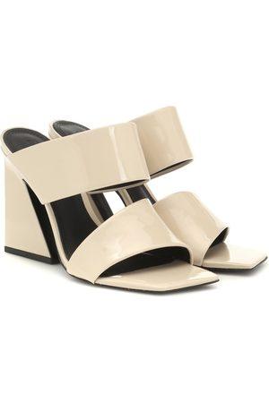Mercedes Castillo Laurann patent leather sandals