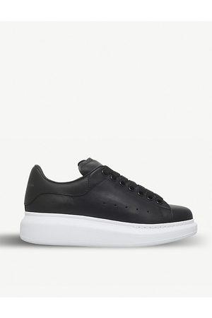 Alexander McQueen Runway Leather Platform Sneakers