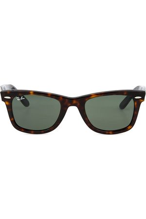 Ray-Ban Women Sunglasses - Tortoiseshell thick frame wayfarer sunglasses RB2140