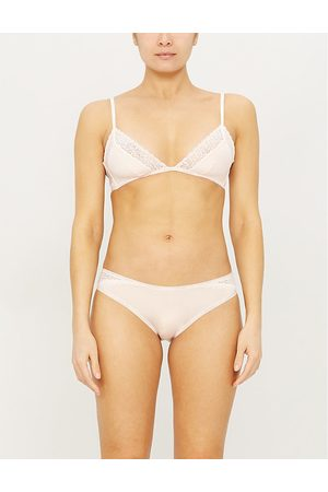 Calvin Klein Flirty stretch-jersey triangle bra