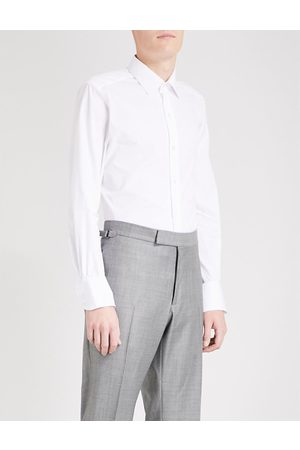 Tom Ford Classic-fit single-cuff cotton shirt