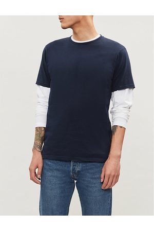 Colourful Standard Crewneck organic cotton-jersey T-shirt