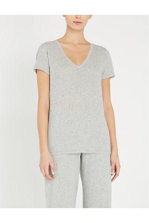 SKIN Short Sleeve - Short-sleeved cotton-jersey T-shirt