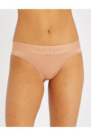 Calvin Klein Tonal Logo stretch-jersey thong