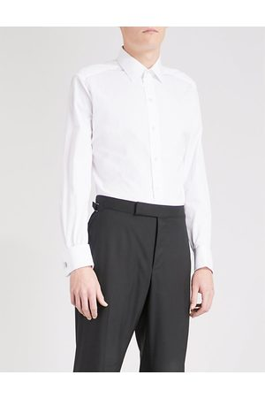 Tom Ford Regular-fit double-cuff cotton shirt