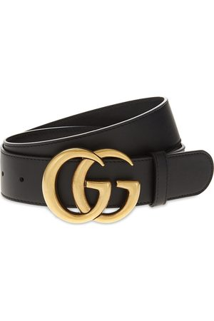 Gucci Double G leather belt