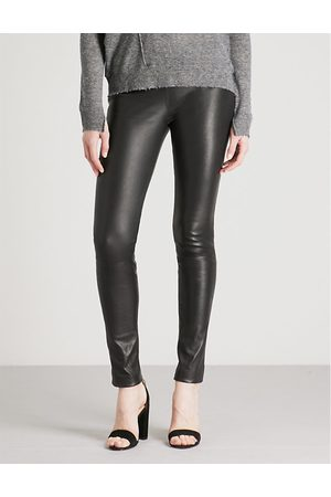 Zadig & Voltaire Pharel stretch-leather leggings