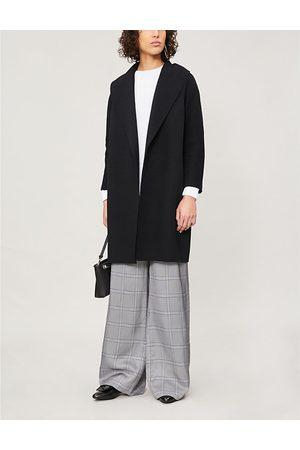 Max Mara Messi wool wrap coat