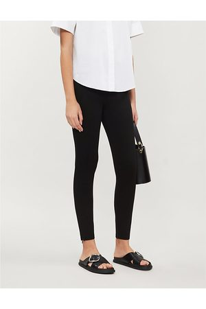 Ted Baker Zipped-cuff high-rise stretch-jersey leggings