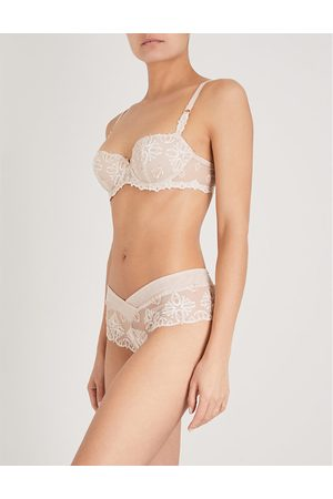 Chantelle Champs Elysées stretch-mesh balconette bra