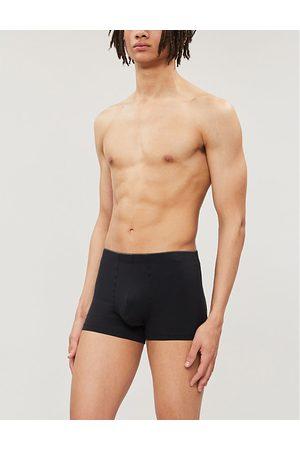 Hanro Elasticated stretch-cotton trunks