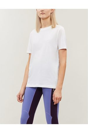 Acne Ellison patch-embroidered cotton T-shirt