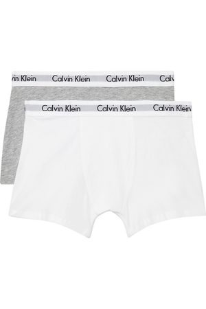 Calvin Klein Modern cotton trunk boxers pack of two 4-16 years