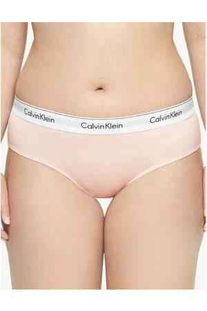 Calvin Klein Plus Modern Cotton cotton-blend hipster briefs