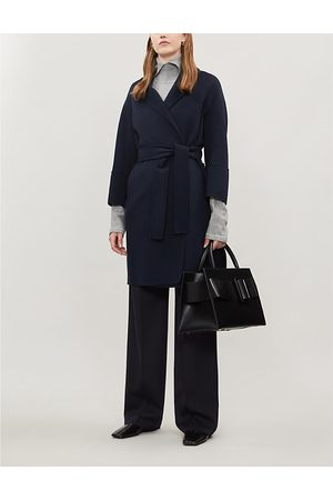 Max Mara Arona single-breasted wool coat