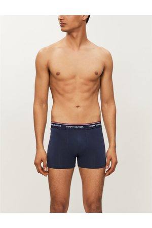 Tommy Hilfiger Pack of three stretch-cotton trunks