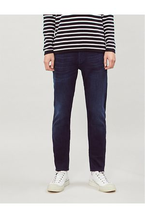 7 for all Mankind Slimmy Tapered Luxe Performance Plus slim-fit tapered jeans
