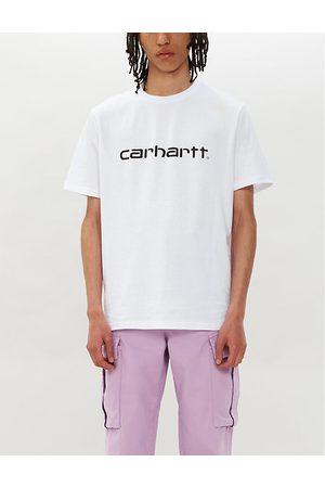 Carhartt Logo-print cotton-jersey T-shirt