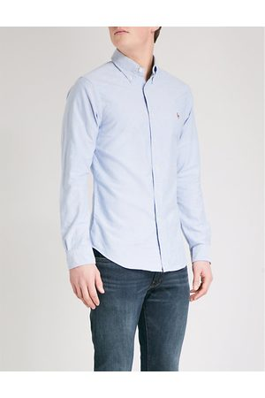 Polo Ralph Lauren Embroidered logo slim fit single cuff shirt