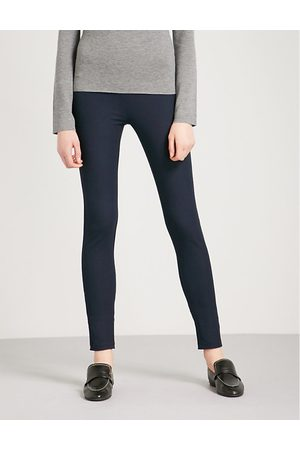 Joseph High-rise slim-fit stretch-gabardine leggings