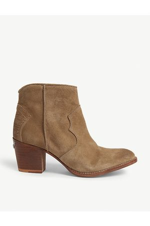 Zadig & Voltaire Molly suede ankle boots