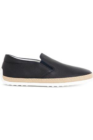 Tod's Gomma Rafia leather skate shoes
